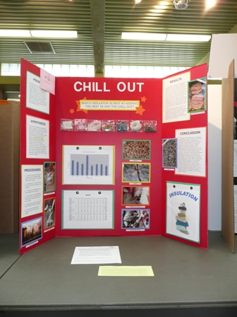 Photograph of the Chill Out Science Fair Project