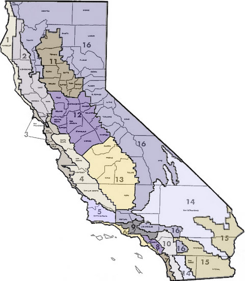 California Climate Map Guide to California Climate Zones California Climate Map