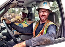 PG&E Crews Restore All Power from Shasta County Fire Damage