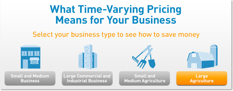 What Time-Varying Pricing Means for Large Agriculture.