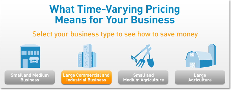 What Time-Varying Pricing Means for Large Commercial and Industrial