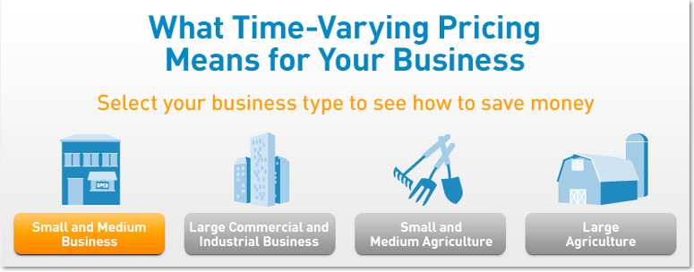 What Time-Varying Pricing Means for Small and Medium Business.