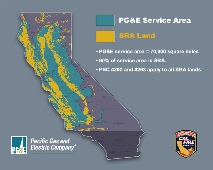 Pacific Gas and Electric Company Service Territory