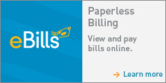 Enroll in e-bills