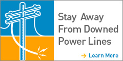 Stay Away from Downed Powerlines