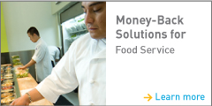 Food servicve incentives