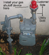 Gas Shutoff Devices
