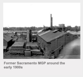 Former Sacramento MGP around the early 1900s