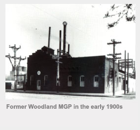 Former Woodland MGP in the early 1990s