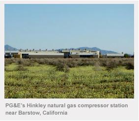 Hinkley天然煤氣圖像