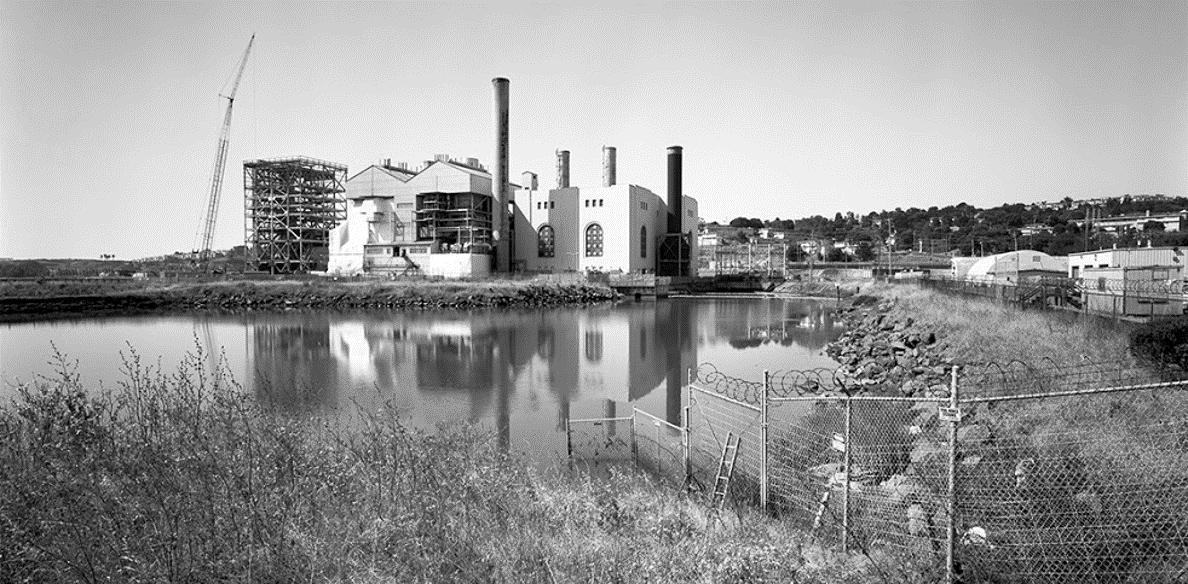 The former Hunters Point Power Plant.