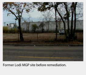site before remediation
