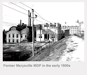 Former Marysville MGP in 1900's