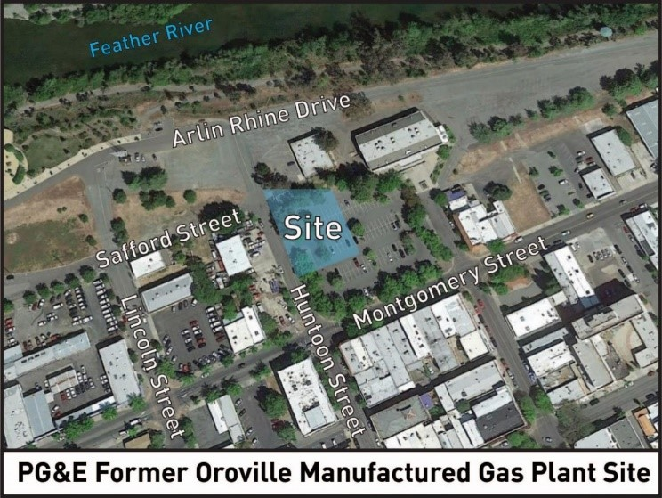Oroville Aerial Map