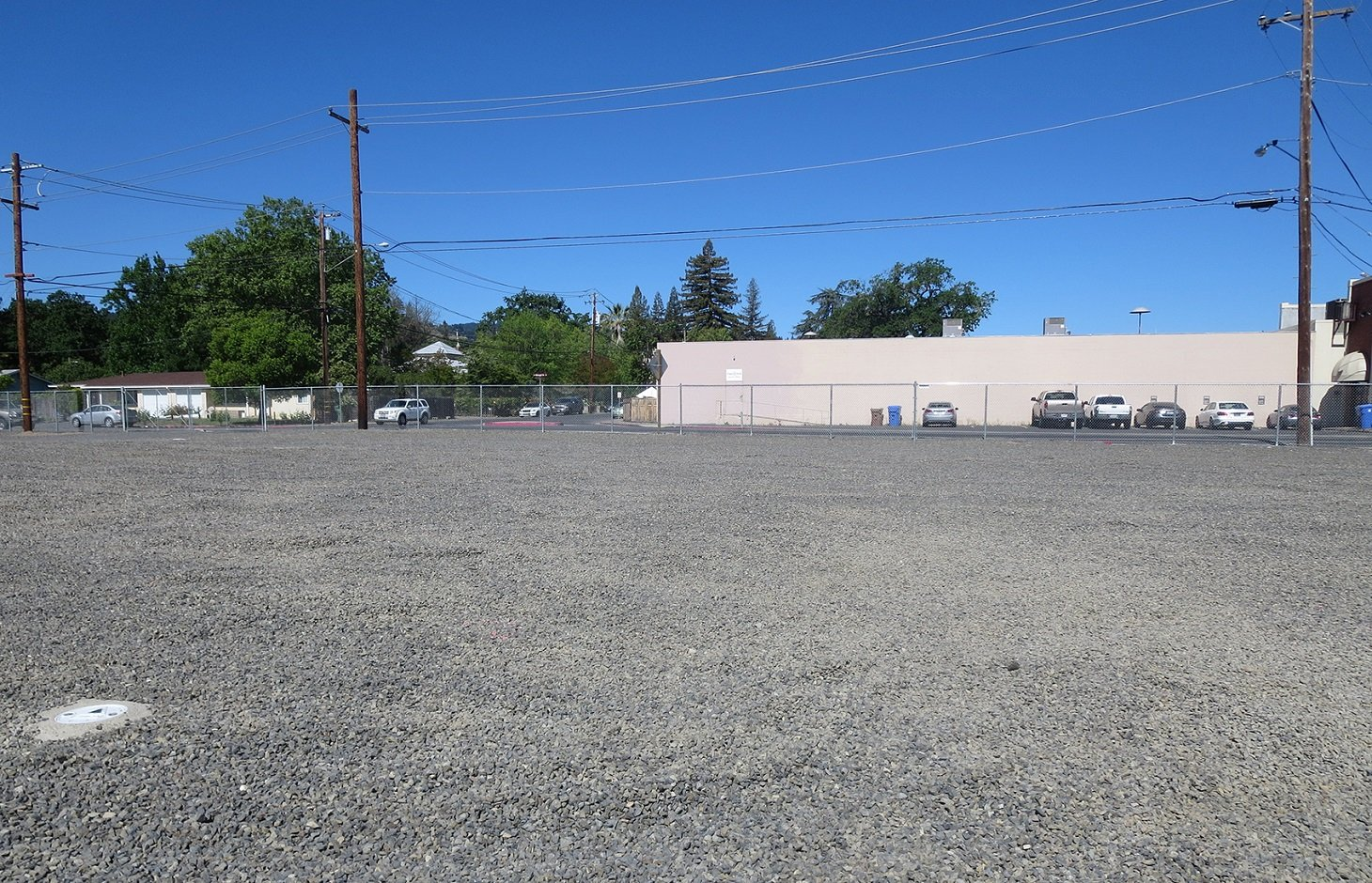 Former St. Helena MGP site after remediation.