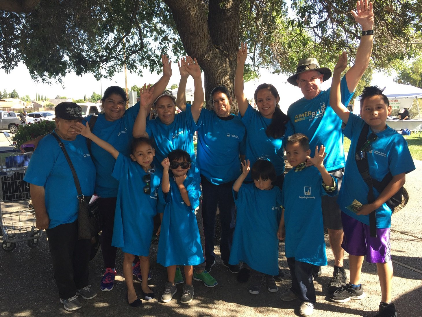 PG&E annually sponsors and volunteers at Bay Point's Unity in Community event