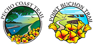 pecho coast and point buchon trail logos