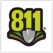 Logo of call centre 811