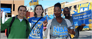 Warriors Parade Winners