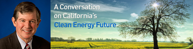 is a clean energy future within California is leading the country in the field of clean and renewable energy at pg&e, we know the future of energy is changing, and we're changing with it over the coming months, we're publishing a series of newspaper columns authored by our leaders including tony earley, chairman geisha.