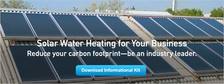Solar Water Heating for Your Business. Reduce your carbon footprint—be an industry leader.