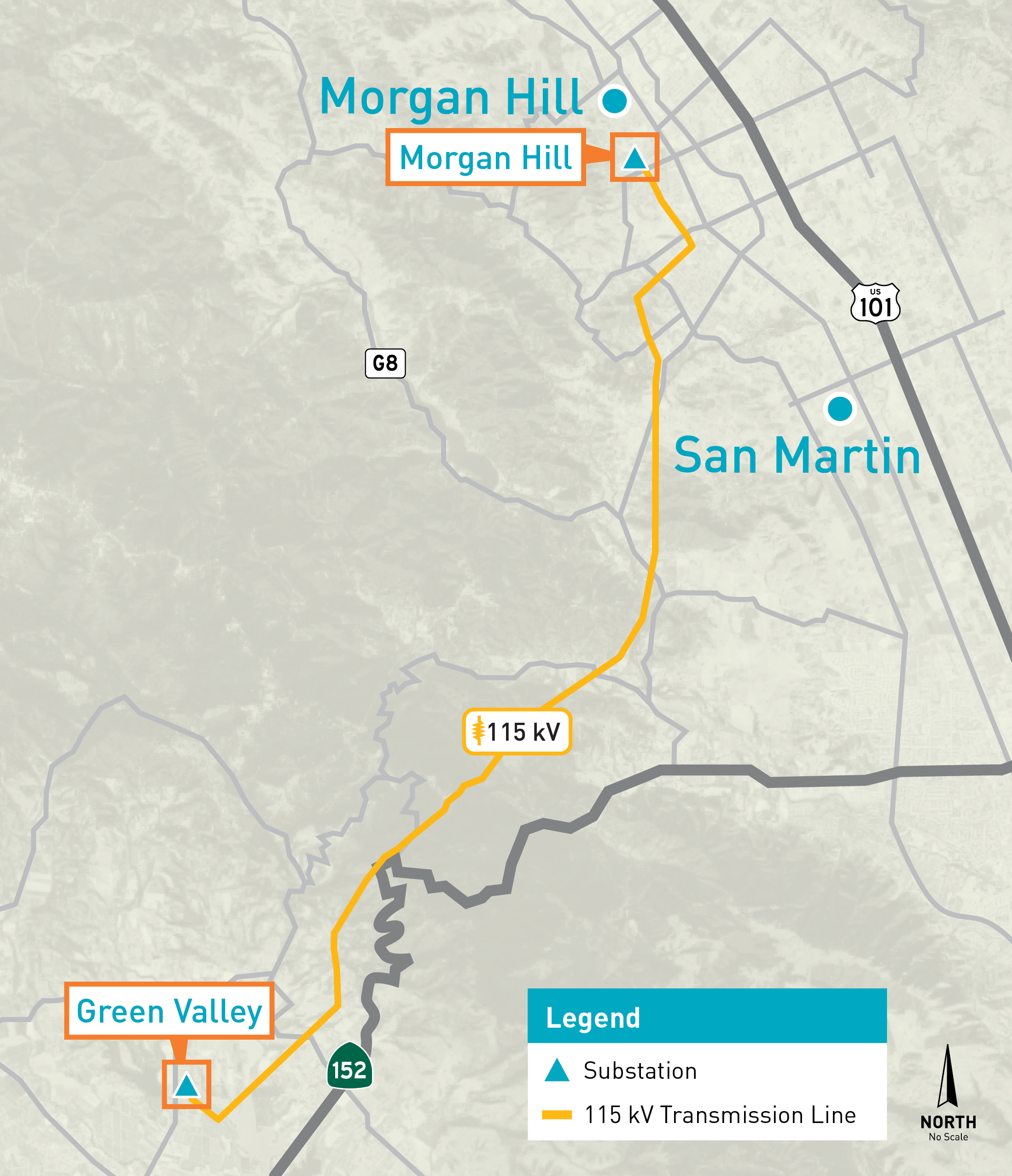 MorganHill-Watsonville Map