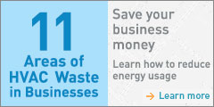 Where's the Waste: HVAC Infographic